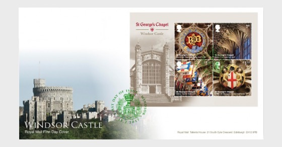 Windsor Castle 2017- (FDC M/S) - First Day Cover