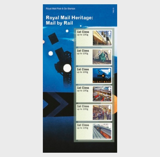 Royal Mail Heritage: Mail by Rail Post & Go - Set