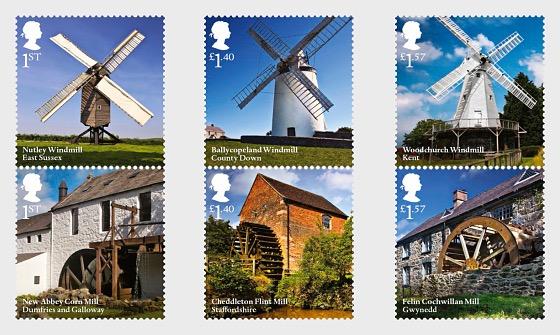 Windmills and Watermills - Set