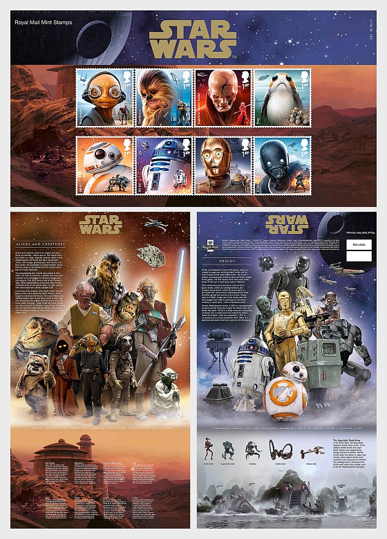 Star Wars: The Last Jedi - Presentation Pack
