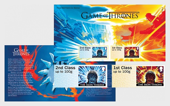 Game of Thrones™  - (Post & Go Stamps) - Set