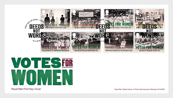 Votes for Women - First Day Cover