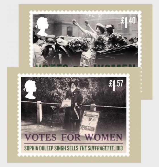 Votes for Women - (Set of 8 Postcards) - Postcard