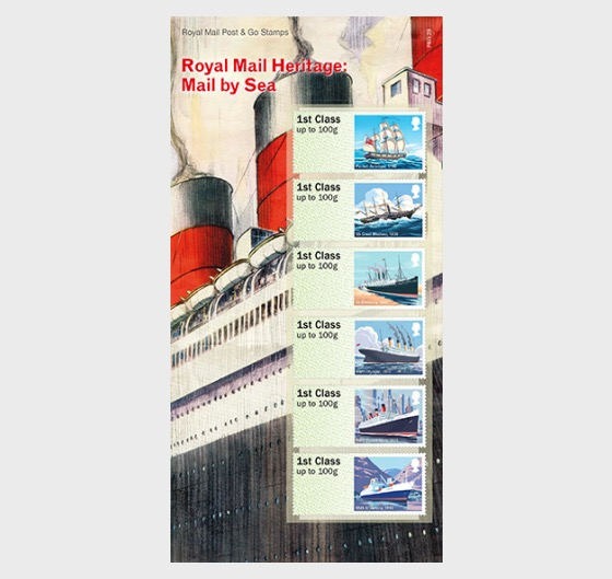 Royal Mail Heritage - Mail By Sea - Set