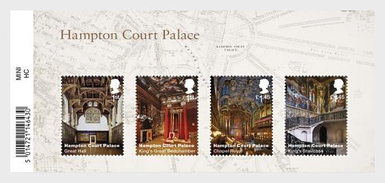Hampton Court Palace - Miniature Sheet