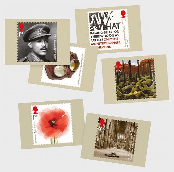 The First World War 1918 - Postcard