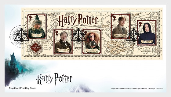 Harry Potter - (FDC M/S) - First Day Cover