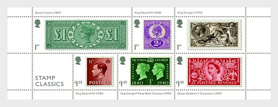Stamp Classics - Miniature Sheet