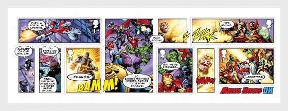 Marvel - Miniature Sheet