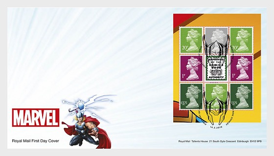 Marvel (FDC-PSB) - First Day Cover