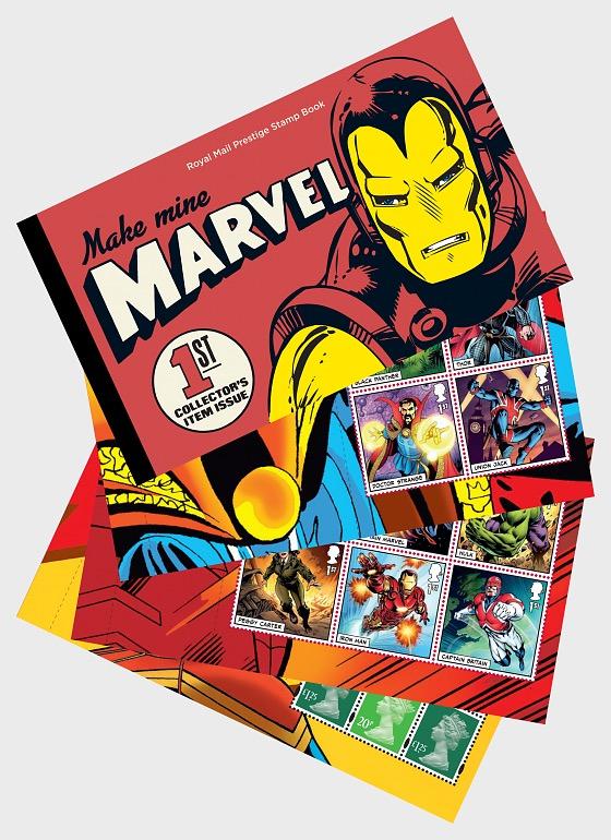 Marvel (Prestige Stamp Book) - Stamp Booklet