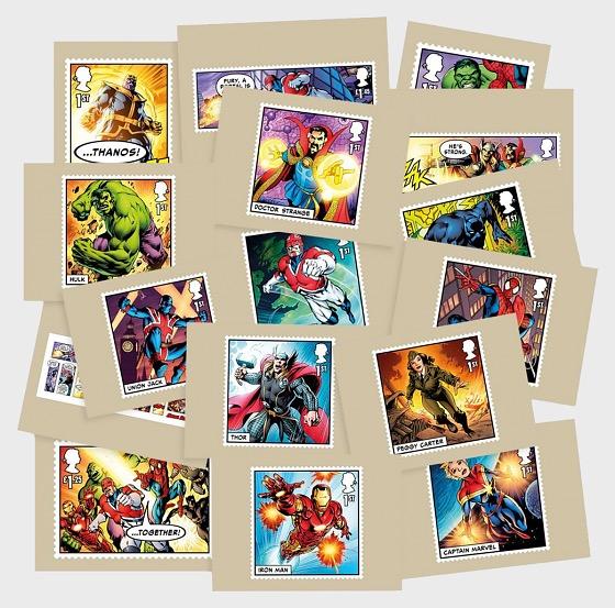 Marvel - Postcard