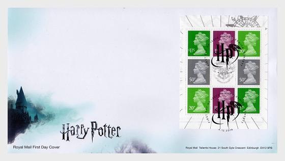 Harry Potter - FDC Stamp Booklet