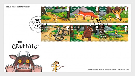 The Gruffalo - FDC-Set - First Day Cover