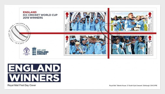 Cricket World Cup Winners - FDC Men's - First Day Cover