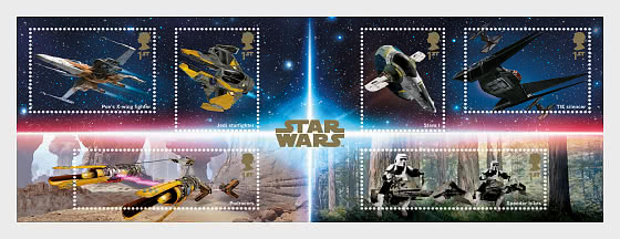 Star Wars III - Miniature Sheet