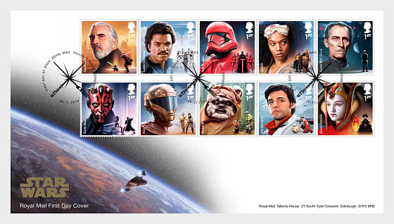 Star Wars III - FDC Set - First Day Cover