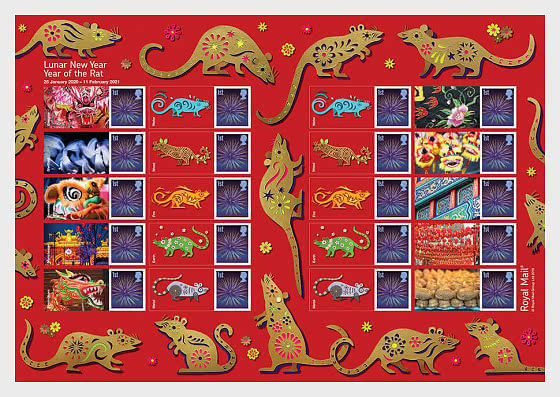 Lunar New Year of the Rat 2019 - Collectibles