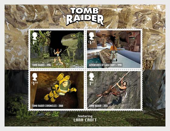 Video Games - Miniature Sheet