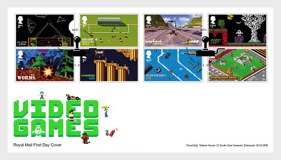 Video Games - FDC Set - First Day Cover