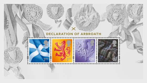 Declaration of Arbroath - Miniature Sheet