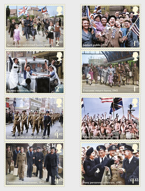End of the Second World War - Set