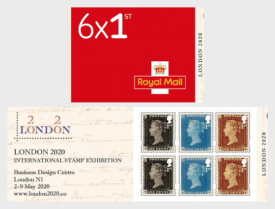 London 2020 - Retail SB - Stamp Booklet