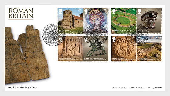 Roman Britain - First Day Cover