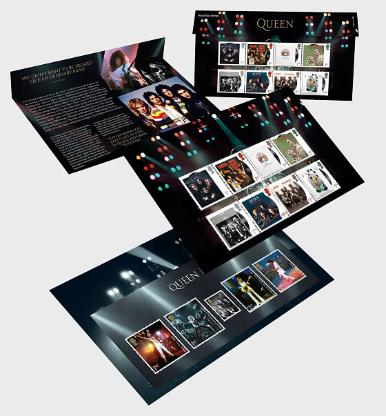 Music Giants IV - Queen - Presentation Pack