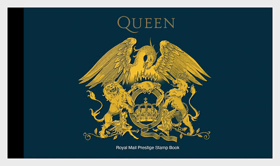Music Giants IV - Queen - Prestige SB - Stamp Booklet