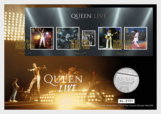 Music Giants IV - Queen - Coin Cover