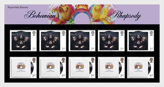 Music Giants IV - Queen - Bohemian Rhapsody Souvenir Pack - Collectibles