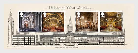 Palace of Westminster - Miniature Sheet