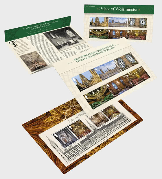 Palace of Westminster - Presentation Pack