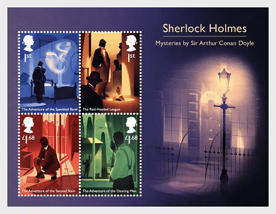 Sherlock - Miniature Sheet