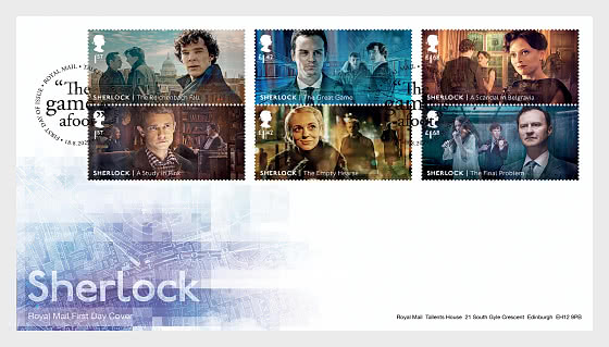 Sherlock - FDC Set - First Day Cover