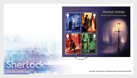 Sherlock - FDC M/S - First Day Cover