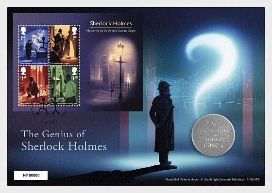 Sherlock - MCo M/S - Medal Cover