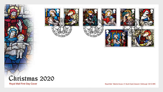 Christmas 2020 - First Day Cover