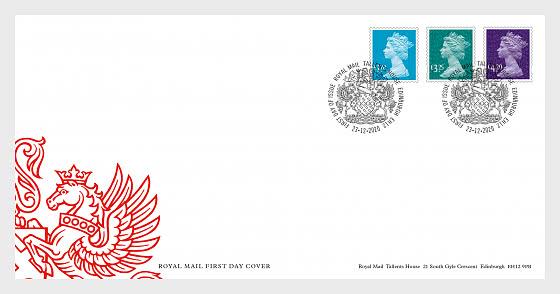 2021 Tariff  Machin Definitives - Enveloppes de Premier Jour