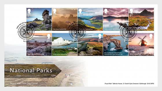 National Parks - First Day Cover