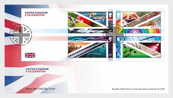 United Kingdom - A Celebration - First Day Cover