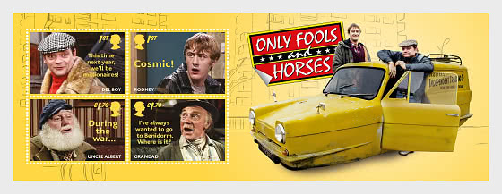 Only Fools and Horses - Miniature Sheet