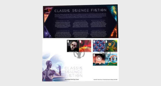 Classic Science Fiction - First Day Cover