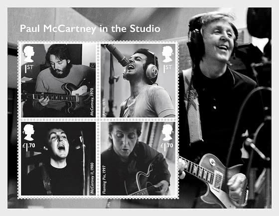 Music Giants V - Paul McCartney - Miniature Sheet