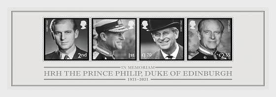 In Memoriam - HRH The Duke of Edinburgh - Miniature Sheet