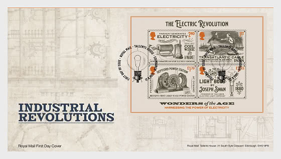 Industrial Revolutions - First Day Cover MS