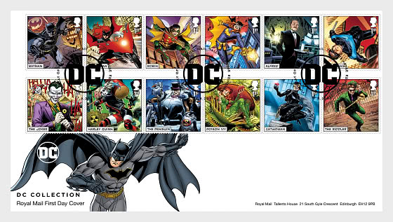DC Collection - First Day Cover