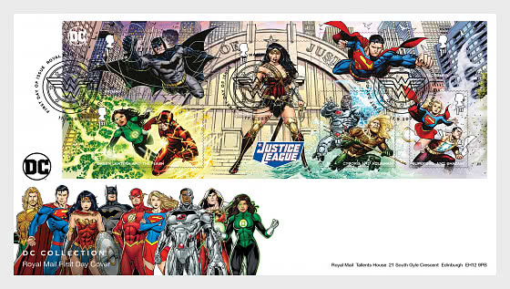 DC Collection - First Day Cover MS