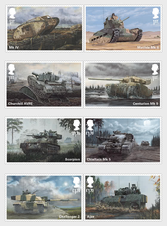 British Army Vehicles - Set